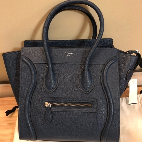 Celine Handbags - ❌SOLD❌ Micro Luggage handbag baby drummed calfskin